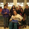 The 2011 Badgerdog creative writing group at Texas School for the Blind and Visually Impaired