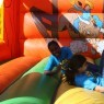 fun and safe falling in the Jumping House during White Cane Day in Austin in 2011