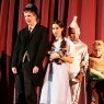 Dorothy, Tin Man, Scarecrow and the Wizard in the Wizard of Oz play